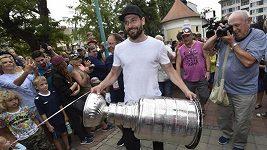 Michal Kempný přivezl Stanley Cup do Hodonína