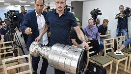 Stanley Cup dorazil do Prahy