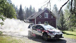 První etapa Finské rallye