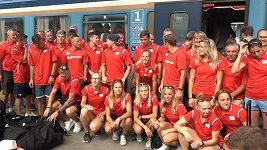 Čeští atleti odjeli na ME do Berlína vlakem. Co dělají během cesty?
