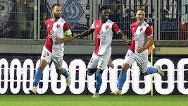 Slavia uhrála s Dynamem Kyjev remízu 1:1. Zařídil jí Josef Hušbauer