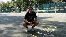 Cvičení s běžeckým žebříkem