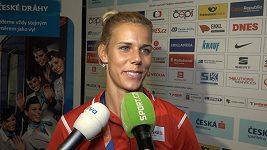Vicemistryně Evropy Nikola Ogrodníková o Kontinentálním poháru v Ostravě
