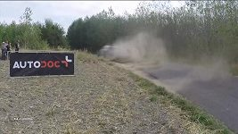 Německé rallye dominuje po první etapě estonský jezdec Ott Tänak