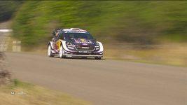 Estonec Tänak útočí v Německé rallye na obhajobu titulu