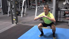 Rehabilitace a posilování kolen