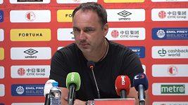Když takový způsob hry udržíme nebo zdokonalíme, můžeme uspět v Evropě, říká trenér Jindřich Trpišovský