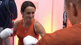 Martina Sáblíková nasadila boxerské rukavice