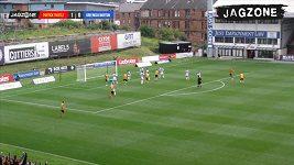 Tohle nebyl gól? Sudí ve Skotsku přehlédl jasnou branku