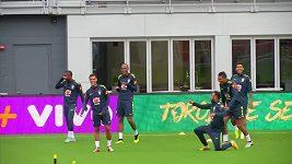 Neymara rozdováděla finta spoluhráče