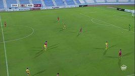 Vlastní gól v katarské lize