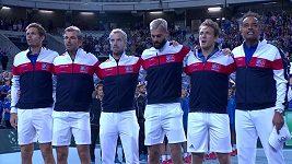 Tenisté Francie postoupili přes Španěly do finále Davis Cupu