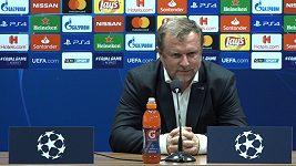 Výkon, za který se nemusí hráči vůbec stydět, řekl trenér Pavel Vrba