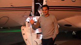 Djokovič, Federer a Zverev přiletěli do Chicaga na Laver Cup