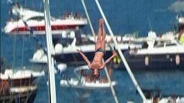 Red Bull Cliff Diving v Itálii