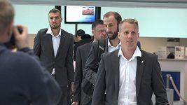 Plzeňští fotbalisté odletěli do Říma na další zápas Ligy mistrů