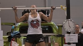 Lenka Strolená a její světový rekord ve shybech