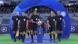 Sestřih utkání Ligy mistrů Neapol - FC Liverpool