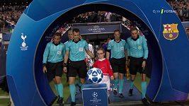 Sestřih utkání Ligy mistrů Tottenham - Barcelona
