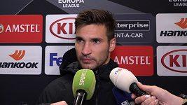 Musíme ten bod brát, říkají po remíze s Dynamem Kyjev fotbalisté Jablonce