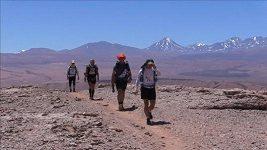 Maratón přes poušť Atacama