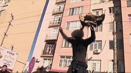 Fanoušci Chabiba Nurmagomedova slavili v Machačkale