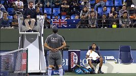 Nick Kyrgios se pustil do velké hádky s hlavním rozhodčím