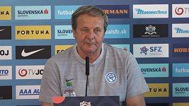 Jste větší národ, takže je normální, že vybíráte z více hráčů, řekl slovenský trenér Ján Kozák