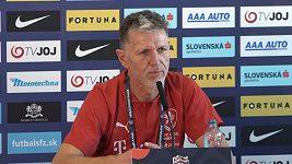 Byl bych rád, aby se kluci mohli podívat sami sobě do očí, říká trenér Jaroslav Šilhavý