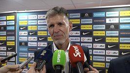 Mám radost, jak jsme to zvládli, jak ten tým fungoval, řekl o své premiéře trenér Jaroslav Šilhavý