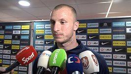 Rodiče na nás dneska mohli být hrdí, řekl po vítězství nad Slovenskem Michael Krmenčík