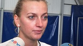Petra Kvitová se připravuje na Turnaj mistryň