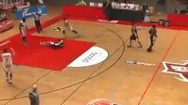 Incident v rakouské basketbalové lize