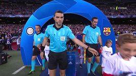 Sestřih utkání Barcelona - Inter