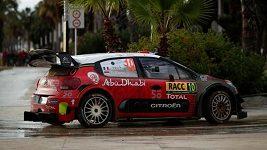 Loeb kraloval Katalánské rallye