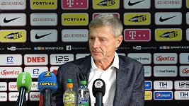 Cítím, že to bylo na tři body, řekl po derby trenér Sparty Zdeněk Ščasný.