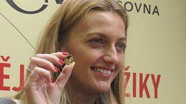 Petra Kvitová si vyrazila zlatou minci s vlastní podobiznou