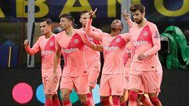Sestřih z utkání Inter Milán - Barcelona