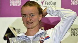 Barbora Krejčíková ukončila dovolenou a připojila se k českému fedcupovému týmu