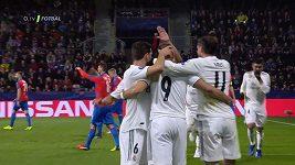 Sestřih z utkání Plzeň - Real Madrid