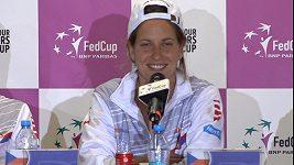Co řekly české tenistky po vítězství ve Fed Cupu? Nechyběly u toho emoce!