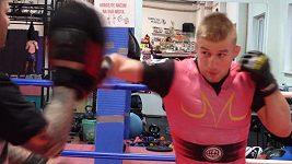 David Kozma, český zápasník jde na slovenskou Bestii
