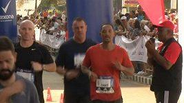 Herec Will Smith se zúčastnil maratonu v Havaně