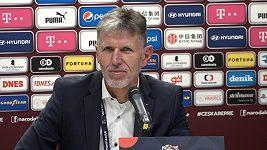 Chtěli jsme vyhrát víc než Slováci, řekl trenér Jaroslav Šilhavý