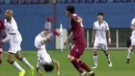 Hororové zranění v korejské lize
