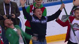 Fanoušek na hokeji vyhrál milion rublů
