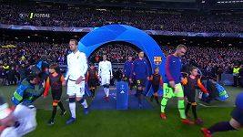 Sestřih zápasu Ligy mistrů Barcelona - Tottenham