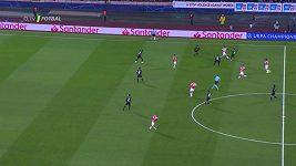 Sestřih ze zápasu Ligy mistrů CZ Bělehrad - PSG