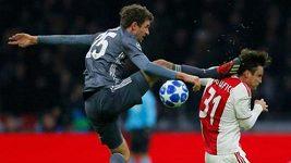 Sestřih utkání Ajax - Bayern