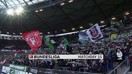Sestřih utkání 15. kola Bundesligy Hannover - Bayern Mnichov